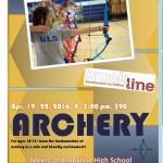 April Archery 2016